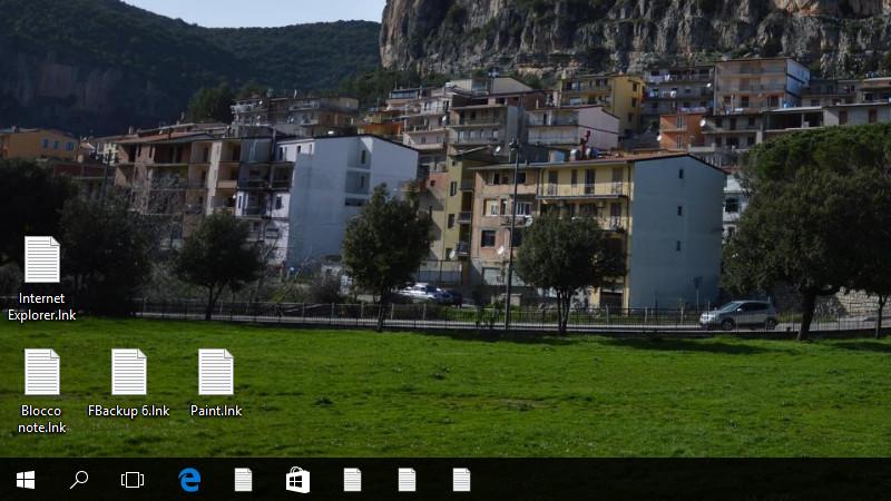 Ripristinare l'associazione dei file lnk su Windows 10