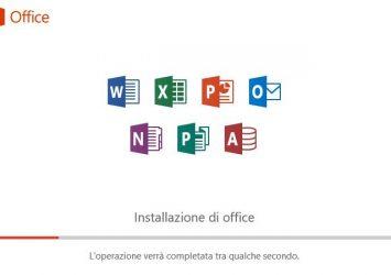 Installazione di Office 365