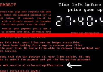 Nuovo ransomware Bad Rabbit
