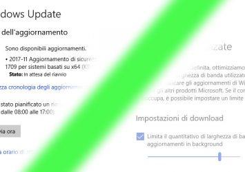 Windows Update, riduzione di banda