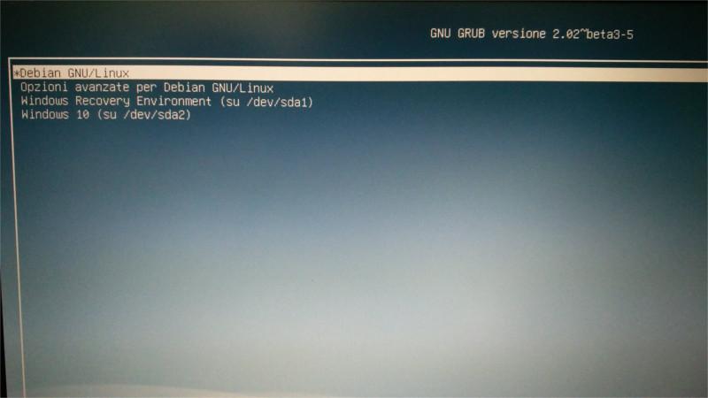 Ripristinare GRUB2 su pc Dual-Boot