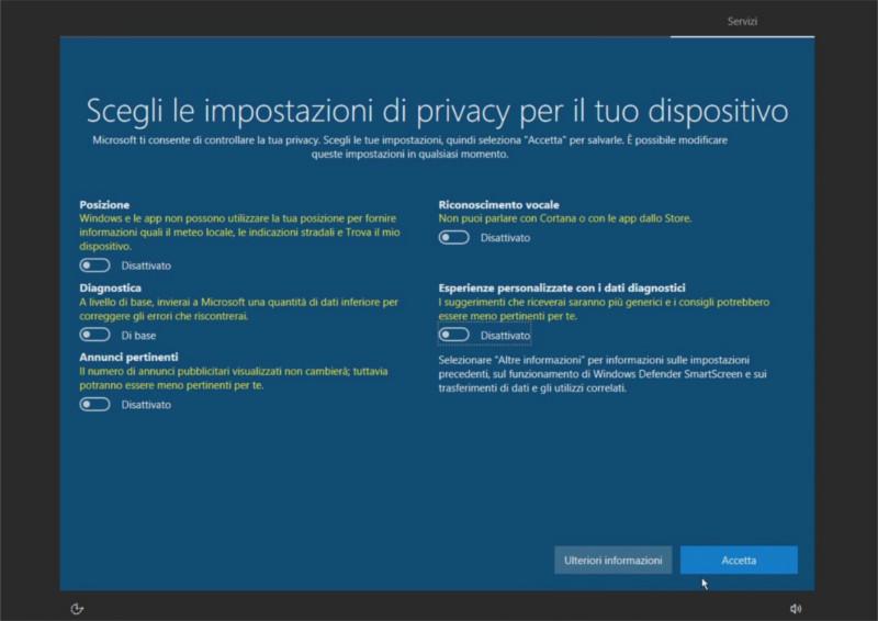 Autorizzazioni privacy