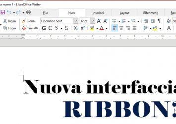 Come abilitare la nuova interfaccia su Libreoffice