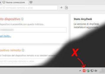 Disabilitare l'avvio automatico di AnyDesk