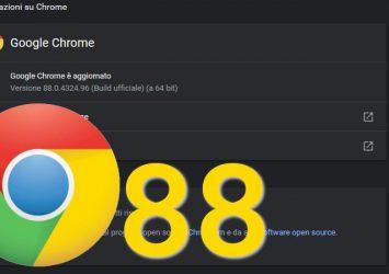 Le novità di Google Chrome 88