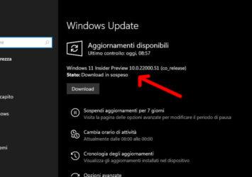Windows 11 rilasciato agli insider