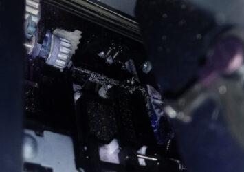 Tampone inchiostro di una stampante Canon